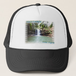 Scenic West Virginia Waterfall Trucker Hat