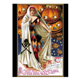 Schmucker: The Magic Halloween Postcard