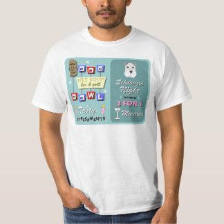 Schnauzer Bowling Night T-Shirt