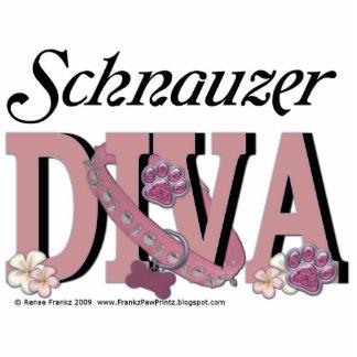 Schnauzer DIVA Cut Outs