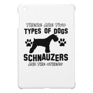 Schnauzer dog Designs Cover For The iPad Mini