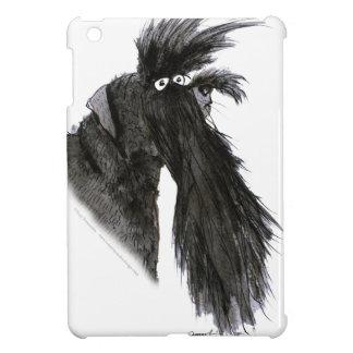 Schnauzer dog, tony fernandes iPad mini case
