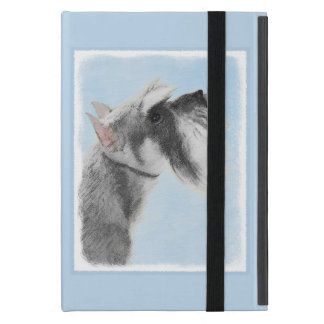 Schnauzer (Giant, Standard) 2 Painting - Dog Art Case For iPad Mini