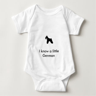 Schnauzer Infant Shirt