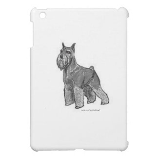 Schnauzer iPad Mini Cover