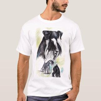 Schnauzer t-shirt all colors