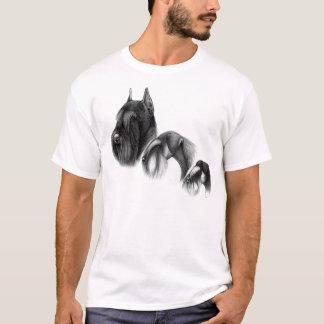 Schnauzer t-shirt three sizes