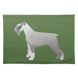 Schnauzer Templates ready to Customize Placemat
