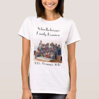 Schnelludwigger Family Reunion 2015 Womens' Tee! T-Shirt