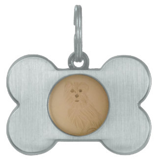 Schnoodle Pet ID Tags