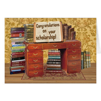 Scholarship Congratulations Card