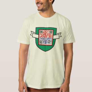 School for Aboutness - QR Shield T-Shirt