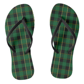 School Girl Plaid Jandals