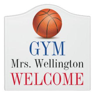 School Gym / P.E. Teacher Classroom Door Sign