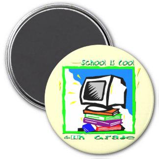 School is Cool 6th Grade - PC Fridge Magnets
