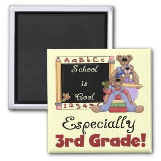 School is Cool Especially 3rd Grade Fridge Magnet