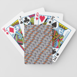 School of Piranhas pattern Bicycle Playing Cards