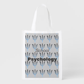School Psychology Reusable Shopping Tote