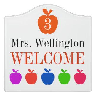 School Teacher Classroom Door Sign