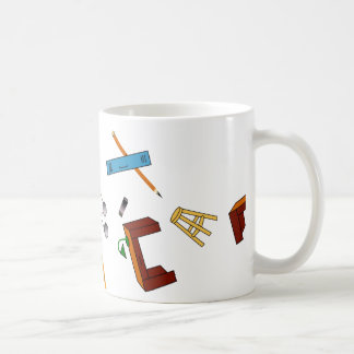 School Theme on Classic Coffee Mug