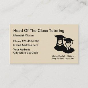 Math teacher business cards zazzle nz school tutoring teacher business card reheart Image collections