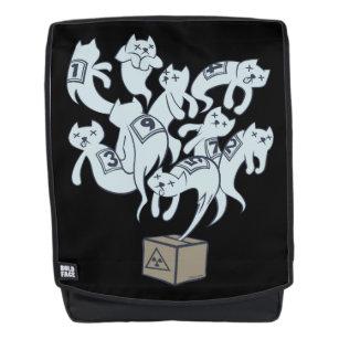Schrödinger Cat 9 Lives Backpack