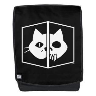 Schrödinger Cat Graphic Backpack