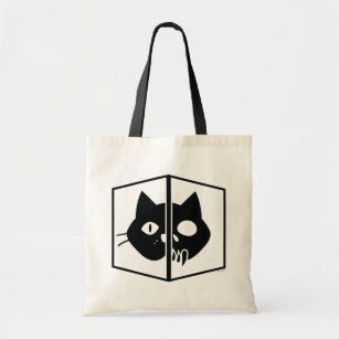Schrödinger Cat Graphic Tote Bag