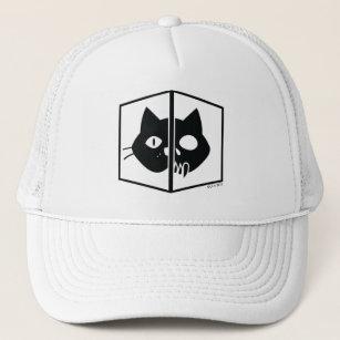 Schrödinger Cat Graphic Trucker Hat