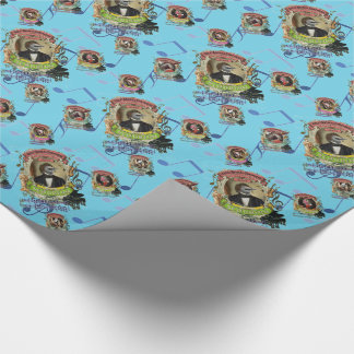 Schubird Schubert Bird and more Animal Composers Wrapping Paper