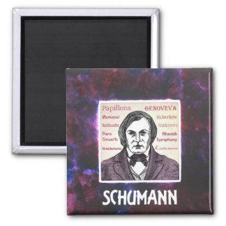 Schumann Refrigerator Magnets