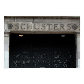 Schusters on Mitchell Street Poster