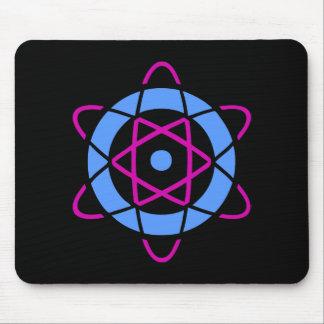 Sci Fi Geek Atom Symbol Mouse Pad