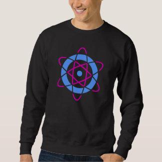 Sci Fi Geek Atom Symbol Sweatshirt