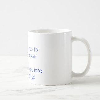 science and religion basic white mug