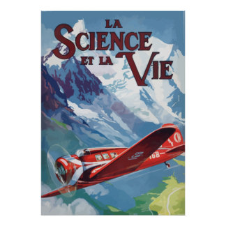 Science and the Life (France - 1932) Poster