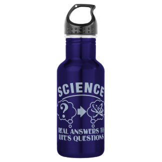Science Answers - choose color 532 Ml Water Bottle