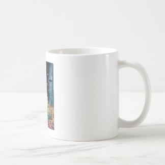 Science Fiction Stories - 1958.09_Pulp Art Basic White Mug