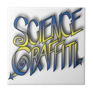 Science Graffiti Ceramic Tiles