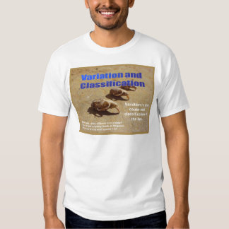 Science, Life Science Variation and inheritance Tshirt