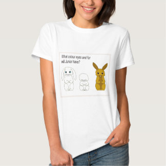 Science, Life Science, What colour eyes and fur? T-shirts