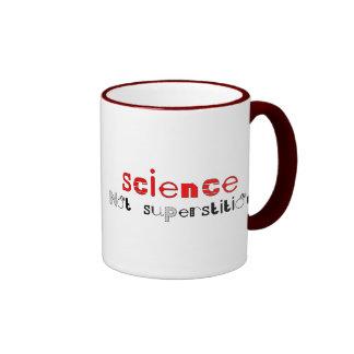 Science Not Superstition Ringer Mug