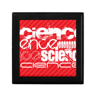 Science; Scarlet Red Stripes Gift Box