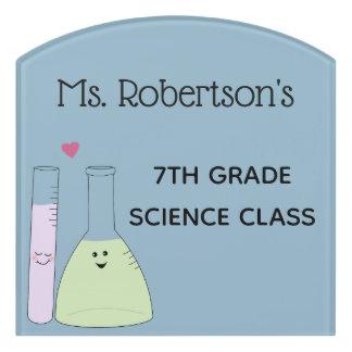 Science Themed Teacher Classroom Sign