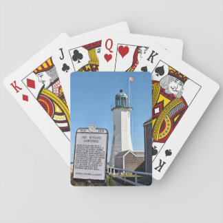 Scituate Lighthouse, Massachusetts Playing Cards