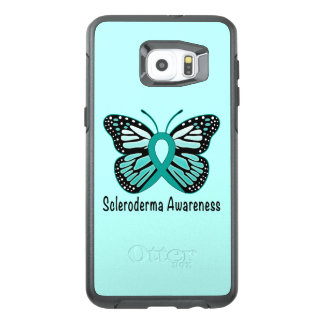 Scleroderma Awareness Ribbon with Wings OtterBox Samsung Galaxy S6 Edge Plus Case