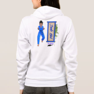 """Scolletta """"Judo Girl"""" Fleece Zip Hoodie"""