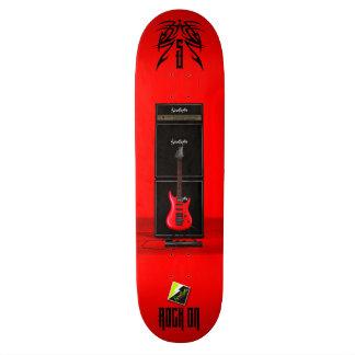 """Scolletta """"Rock On II"""" Deck 044 21.6 Cm Skateboard Deck"""