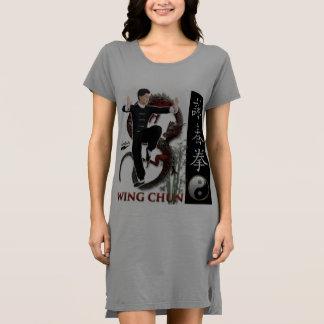 """Scolletta """"Wing Chun"""" T Dress"""
