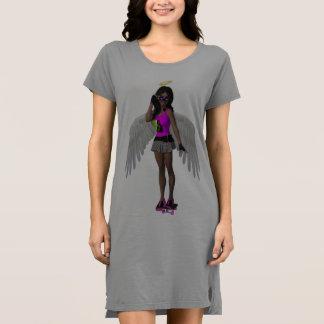 """""""Scolletta's Angel"""" Women's T Dress"""